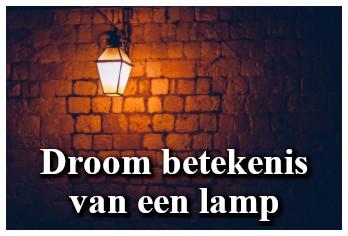 Droom betekenis van een lamp