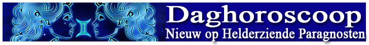 Nieuw op Helderziende Paragnosten - Daghoroscoop