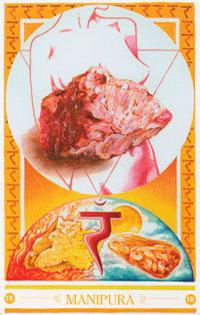 Medicijnkaart Stenen van Manipura