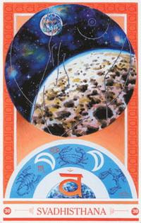 Medicijnkaart Maan van Svadhisthana