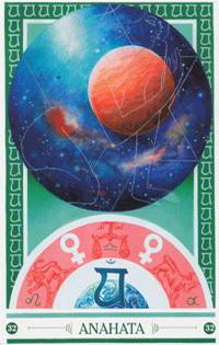 Chakra kaart Venus van Anahata