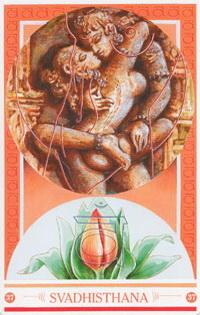 Chakra kaart Gelieven van Svadhisthana