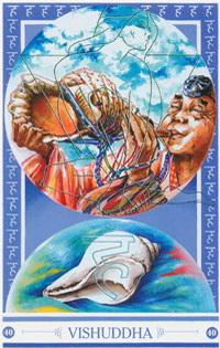 Medicijnkaart Schelpspeler van Vishuddha
