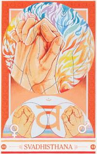 Medicijnkaart Mudra van Svadhisthana
