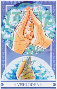 Medicijnkaart Mudra van Vishuddha