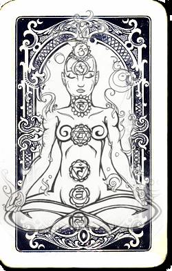 Chakra kaarten - Trek een chakra dagkaart