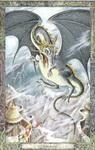 Dieren orakelkaart Luchtdraak (Draig-athar)