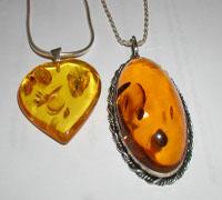 Edelstenen Amber of Barnsteen
