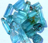 Aquamarijn stenen