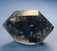 Tibetaanse zwarte kwarts edelsteen