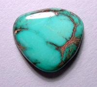Turquoise edelsteen