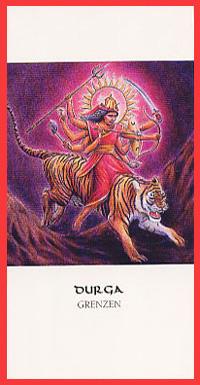 Godinnenkaart Durga