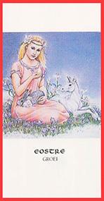 Godinnenkaart Eostre