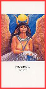 Dieren orakelkaart Hathor