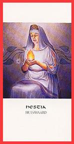 Dieren orakelkaart Hestia