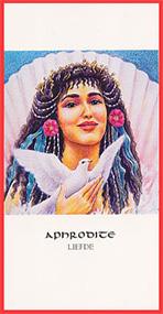 Dieren orakelkaart Aphrodite
