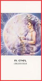 Dieren orakelkaart Ix Chel