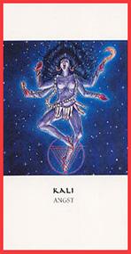 Dieren orakelkaart Kali