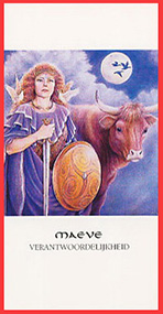 Dieren orakelkaart Maeve