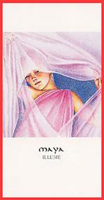Godinnenkaart Maya