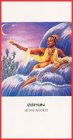 Dieren orakelkaart Oshun