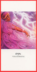 Dieren orakelkaart Oya