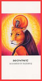 Godinnenkaart Sechmet