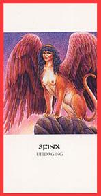 Dieren orakelkaart Sfinx