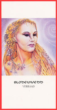 Godinnenkaart Blodeuwedd