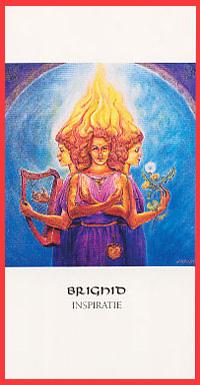 Godinnenkaart Brighid