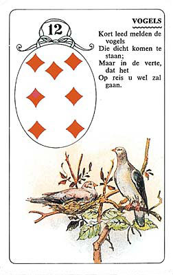 Lenormand kaart Vogels