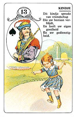 Lenormand kaart Kindje