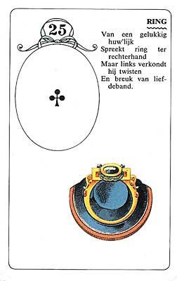 Lenormandkaart Ring