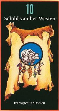 Moeder Aarde kaart Schild van het westen