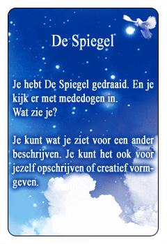 Spirituele kaart De Spiegel