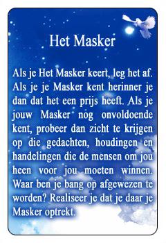 Spirituele kaart Het Masker