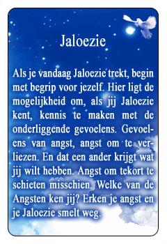 Spirituele kaart Jaloezie