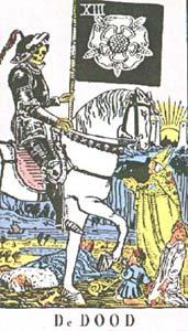 8ff9c165ea51b3 Tarotkaart De Dood uitgelegd door helderziende paragnosten