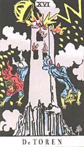 Tarotkaart De Toren