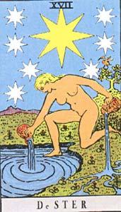 Tarotkaart De Ster
