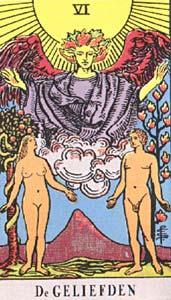 Tarotkaart De Geliefden