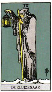 Tarotkaart De Kluizenaar