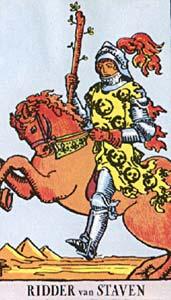 Tarotkaart Staven Ridder
