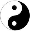 Yin Yang - Black and White