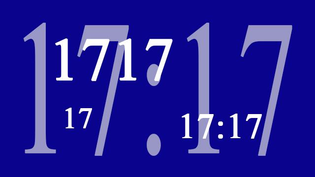 17:17 betekenis 17. zie jij ook steeds dezelfde getallen zoals 17:17